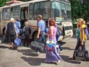 «Гуманитарный коридор» из Луганска начал работать по новой схеме
