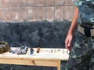 Луганчан просят не трогать подозрительные предметы (ВИДЕО)