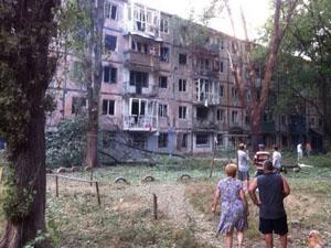 Сегодня ночью город Харцызск в Донецкой области пережил страшный артобстрел.