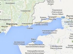 карта украина ато