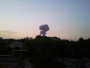 Вечером 31 августа в Донецке прогремел мощнейший взрыв