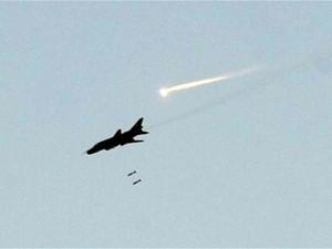 Российская авиация ударила по Луганской области