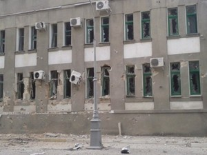 Какие разрушения зафиксировали в Луганске (ФОТО, ВИДЕО)