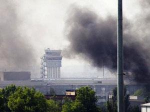 В Донецке с утра слышны взрывы и пулеметные очереди – боевики пытаются штурмовать аэропорт