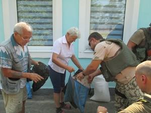 Где в Луганске получить гуманитарную помощь: список адресов