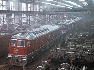 На «Лугансктепловозе» работает около 500 человек