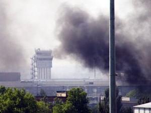Донецк 26 сентября: ночью горел аэропорт, утро началось с залпов