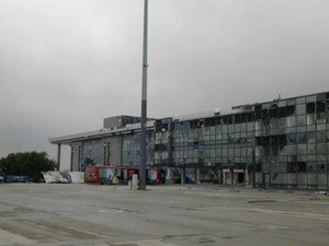Штурм аэропорта в Донецке продолжается