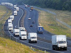 """Власти """"ЛНР"""" попросят, чтобы в четвертый гуманитарный конвой были включены строительные материалы."""