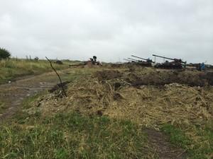 Боевики везут САУ «Гиацинт» из Луганска в Донецк