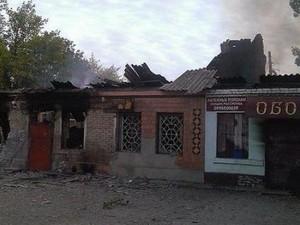 Некоторые районы Луганской области по-прежнему под обстрелом