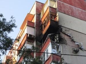 В Донецке всю ночь обстреливали город