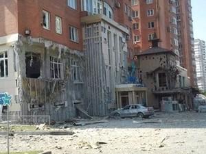 Донецк 13 октября: взрывы в центре города