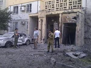 Стрельба в Донецке слышна целые сутки