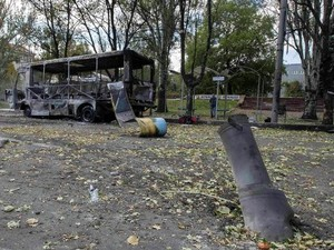 В Донецке продолжаются обстрелы города