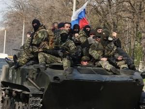 В Донецк переброшены новые силы боевиков