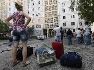 В Луганске снова неспокойно