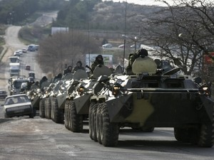 Военная техника из РФ продолжает прибывать