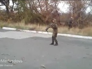 Террористы обстреляли бензозаправку