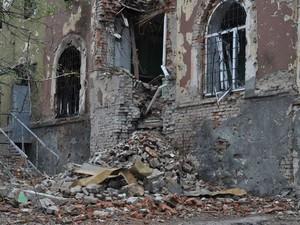 Ночью Петровский районе подвергся обстрелу