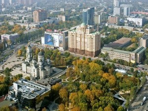 День в Донецке начинался спокойно