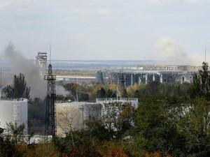 В Донецке сохраняется напряженная обстановка