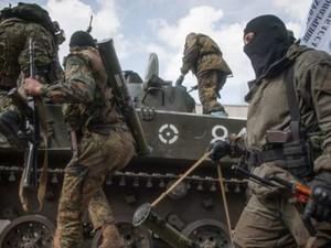 Обстрел украинских позиций не прекращается