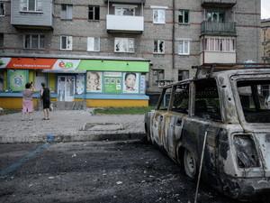Сегодня в Донецке тихо