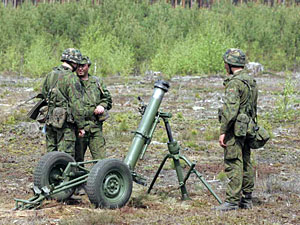 Боевики практически наладили серийное производство минометов