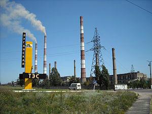 Сейчас на ТЭС работает только один энергоблок.