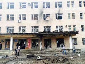 Местные жители не сомневаются, что обстрел ведут боевики «ДНР»