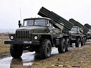 Под огонь попали Дебальцево, Мироновское, Майорское и Углегорск.