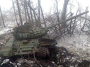 В первый же день было уничтожено семь единиц техники.