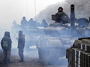 Части ВСУ контролируют населенный пункт Логвиново и дорогу на Дебальцево.
