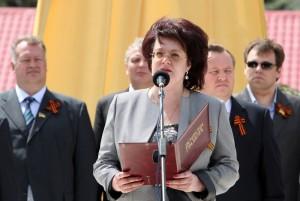 Экс-мэр Красного Луча Марина Филиппова -  активный член «Партии Регионов»