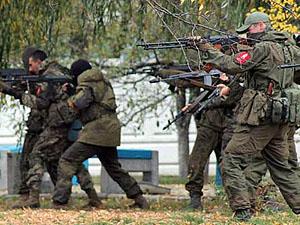 На данный момент общая численность личного состава российско-террористических войск составляет два армейских корпуса.