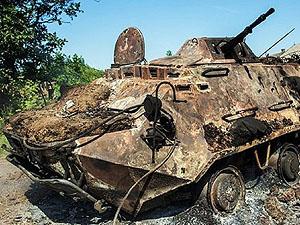 В Алчевске открылись нелегальные пункты приема металлолома – туда и свозят всю эту поврежденную технику
