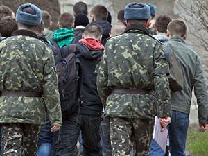 Призывников из Луганской области сейчас не всегда отправляют в зону АТО