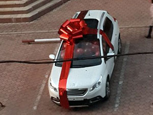 «Моторола» подарил своей жене внедорожник за полмиллиона гривен