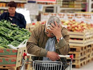 В супермаркетах Донецко явно завышенные цены