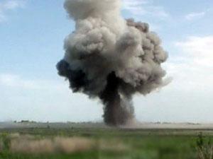 Взрыв из этой установки позволяет разминировать минные поля и наносить колоссальные потери живой силе противника.