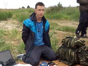 Задержанный террорист переправлен в Украину.
