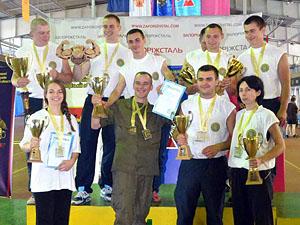 По итогам соревнований победила сборная команда Национальной гвардии МВД Украины.