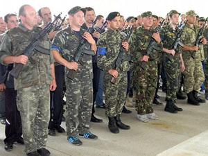 В рамках военного сбора прошли занятия по огневой, тактической и инженерной подготовке.