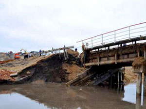 16-летний житель Луганска решил пройти по частично разрушенному мосту на территорию, подконтрольную Украине