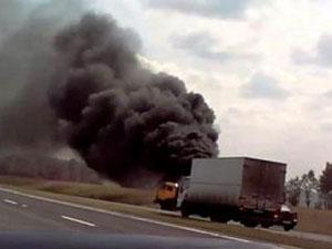 Спасателям потребовалось всего 20 минут, что бы полностью погасить и локализовать возгорание.