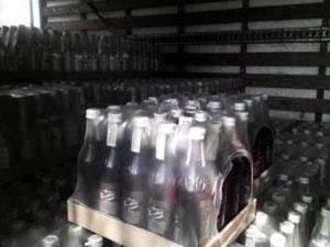 По факту задержания крупной партии безакцизного алкоголя ведутся оперативно-следственные действия.