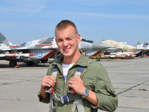 Егор Большаков, летчик, погибший сегодня утром под Запорожьем.