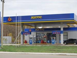 Так выглядела АЗС №16 ЛОГРУС за несколько лет до начала боевых действий в Луганске