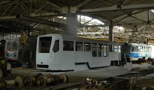 Сборка трамвая